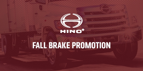 Hino Trucks Fall Brakes Installation Promotion