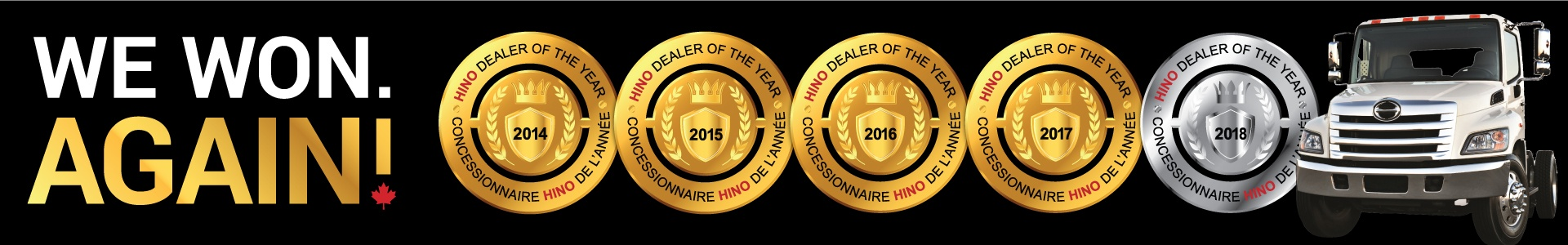Tri Truck Centre 4-Time Hino Dealer of the Year Winner