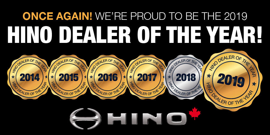 TTC Hino Dealer of the Year 2019